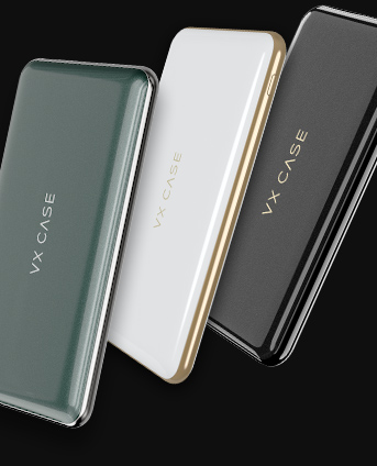 escolha seu estilo de bateria, vários modelos vxcase diamond wireless