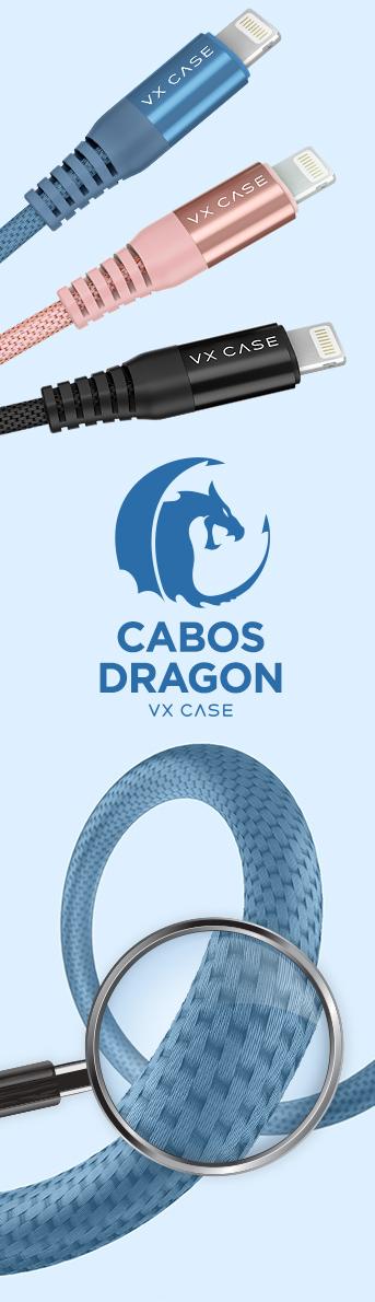 Todos os cabos dragon VX Case